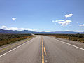 2014-08-09 11 01 54 View east on U.S. Routes 6 and 50 and south on U.S. Route 93 about 43.8 miles east of the Nye County line in White Pine County, Nevada.JPG