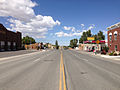 2014-09-09 13 17 27 View west along U.S. Route 50 about 36.9 miles east of the Lander County line in Eureka, Nevada.JPG