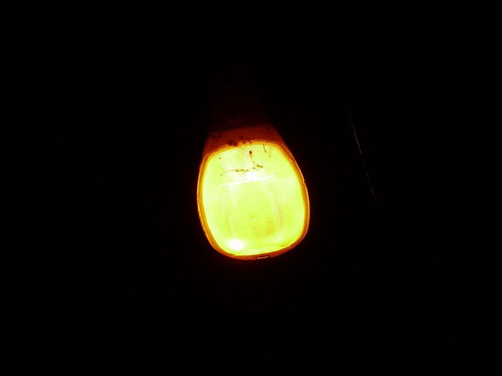 wiki sodium vapor lamp