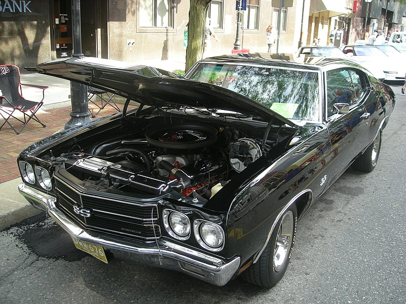File:2014 Rolling Sculpture Car Show 46 (1970 Chevrolet Chevelle SS 454).jpg