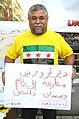 2015-08-21 Gedenken am Ernst-August-Platz in Hannover an die Giftgas-Opfer von Ghouta in Syrien, (16).JPG