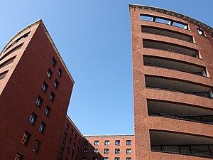 20150312 Maastricht; La Fortezza building at Céramique terrain 04.jpg