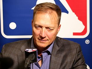 Jeff Banister - Banister at the 2015 Winter Meetings