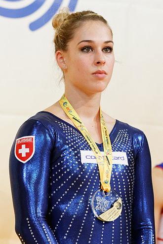 Giulia Steingruber - Steingruber at the 2015 European Championships