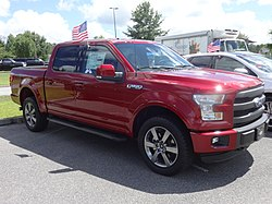 2015 Ford F150 Lariat, 9th Annual Super Cruise-in Valdosta.JPG