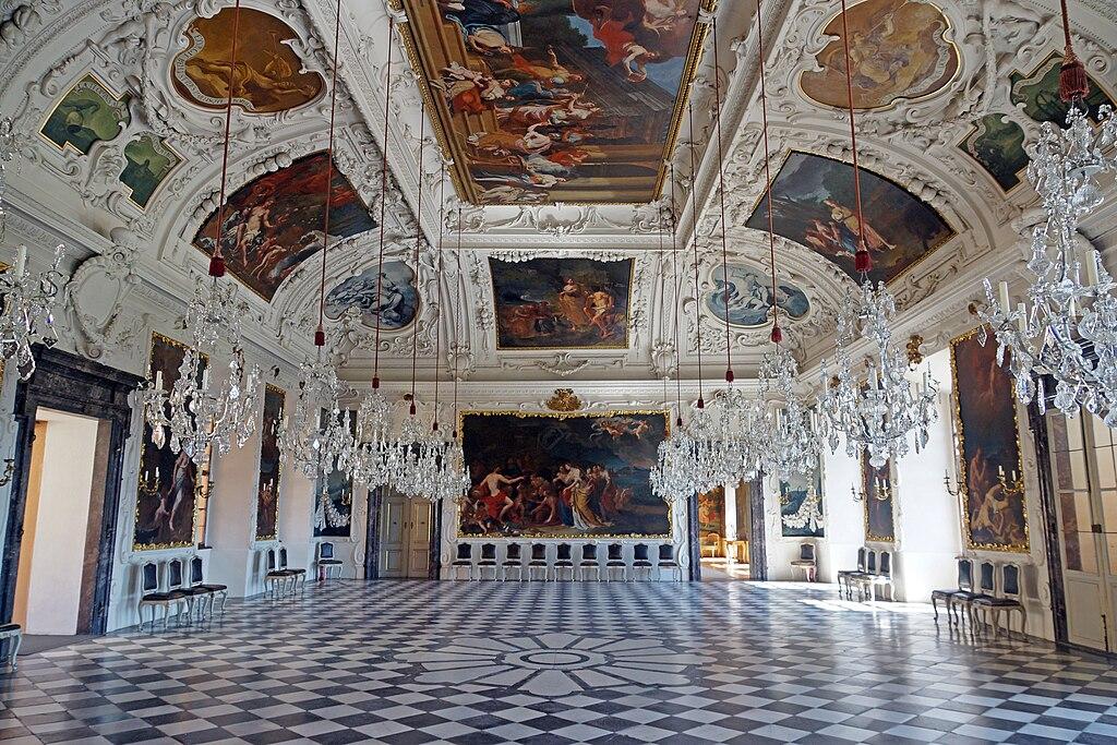 Schloss Eggenberg bei Graz: Planetensaal (UNESCO-Welterbe in Österreich)