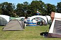 2016 Broadstairs Folk Week band musicians' campsite at Broadstairs Kent England 4.jpg