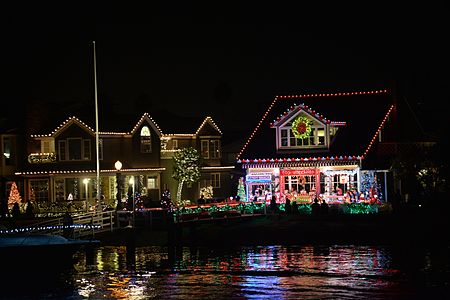 Santa's Actual Workshop Located on Balboa Island, Newport Beach CA... Happy Holidays!