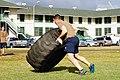 2016 Seabee Olympics Hawaii - Tire Toss - NAVFAC Hawaii Lt. Theodore (25238931706).jpg