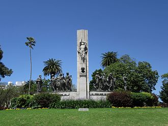 José Enrique Rodó - Monument to José Enrique Rodó in Parque Rodó