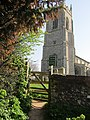 2018-04-20 Bell tower, Parish church of Saint Mary the Virgin, Northrepps, Cromer (3).JPG