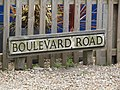 2018-05-19 Street name sign, Boulevard Road, West Runton (1).JPG