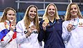 2018-10-10 Swimming Girls' 50m Butterfly Final at 2018 Summer Youth Olympics by Sandro Halank–019.jpg