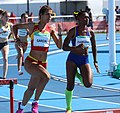 2018-10-16 Stage 2 (Girls' 400 metre hurdles) at 2018 Summer Youth Olympics by Sandro Halank–012.jpg