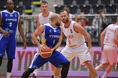 20180913 FIBA EM 2021 Pre-Qualifiers Austria vs. Cyprus Michail Murati 850 5795.jpg