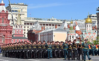 Military academies in Russia - The Moscow Suvorov Military School