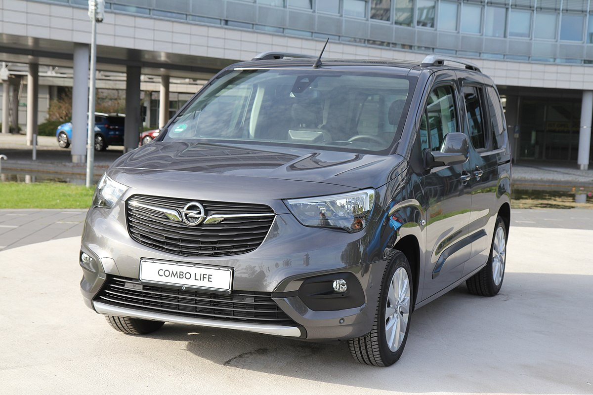 Ford Transit Connect >> Opel Combo — Вікіпедія