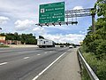 2019-05-27 14 23 33 View north along the outer loop of the Capital Beltway (Interstate 95 and Interstate 495) at Exit 7A (Maryland State Route 5 SOUTH-Branch Avenue, Waldorf) in Camp Springs, Prince Georges County, Maryland.jpg