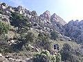 2020-07-12 Vista de l'accés per la canal sud al Penyagolosa.jpg