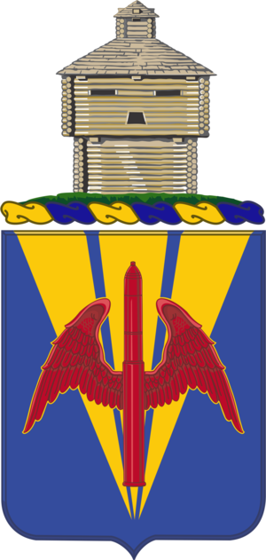 202nd Air Defense Artillery Regiment - Coat of arms