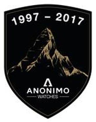 Anonimo (watch) - 20 Years anniversary badge