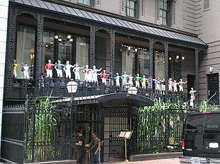 Il 21Club di New York, famoso speak-easy ai tempi del proibizionismo