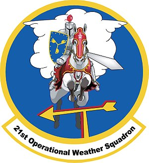 21st Operational Weather Squadron - 21st Operational Weather Squadron Patch