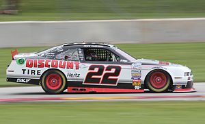 Buschwhacker - The No. 22 Discount Tire Ford of Team Penske, frequently driven by Cup drivers Brad Keselowski and Joey Logano.
