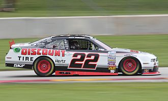 Alex Tagliani - 2014 NASCAR Xfinity Series car at Road America
