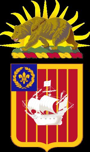 251st Air Defense Artillery Regiment - Coat of arms