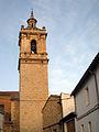 30 Campanar de l'Assumpció, des de la plaça de la Vileta.jpg
