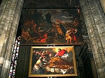 3204 - Milano, Duomo - Giorgio Bonola - S. Carlo distribuisce i beni (1681) - Foto Giovanni Dall'Orto, 6-Dec-2007.jpg
