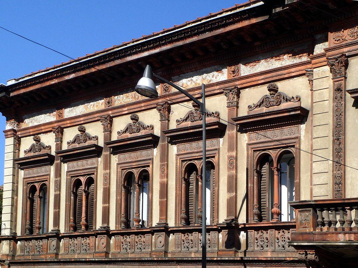 Casa candiani wikipedia for Case da architetto