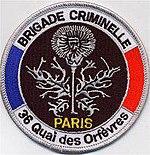 Direction r gionale de police judiciaire de paris wikipedia - Police judiciaire paris 36 quai des orfevres ...