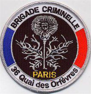 Direction Régionale de Police Judiciaire de Paris - Brigade criminelle Patch