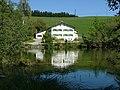400 m nach der Quelle, an der Aitranger Straße,Finkerweiher,Hausname,beim Fink - panoramio.jpg
