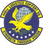 446 Logistics Support Sq (later 446 Maintenance Operations Sq) emblem.png