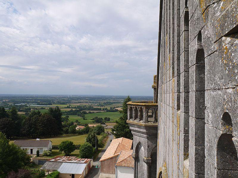 La tour nord.