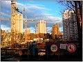 6-й мкр Бескудниково. Апрель 2010. Вечер - panoramio.jpg