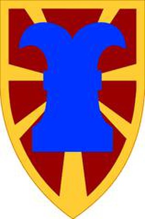 7th Transportation Brigade (United States) - 7th Transportation Brigade (Expeditionary) shoulder sleeve insignia