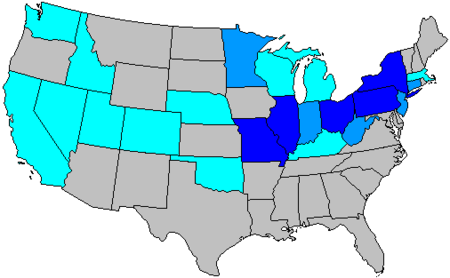 United States House Of Representatives Elections  Wikipedia - California us house of representatives map