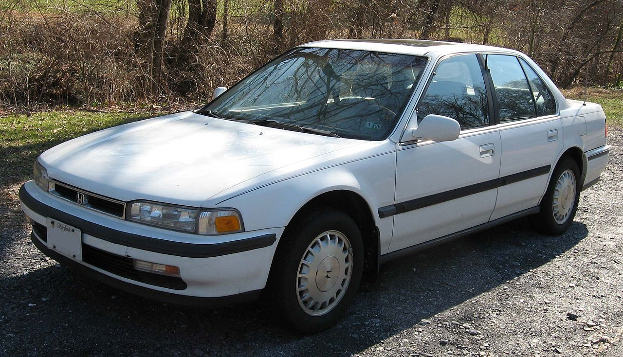 2007 Honda Accord >> File:90-91 Honda Accord sedan.jpg - Wikimedia Commons