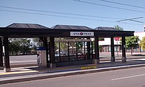 900 East (UTA station) - Image: 900 East Station 2