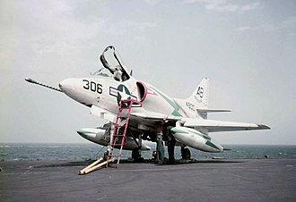 VA-831 (U.S. Navy) - A-4B Skyhawk similar to those flown by VA-831.