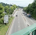 A472 heads east away from central Pontypool - geograph.org.uk - 2438296.jpg