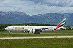 A6-EGV Boeing B777-31HER B77W - UAE (27092352242).jpg