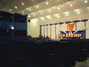 Assembleias de Deus - Temple Assembly of God in Brasília.