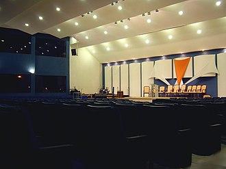 Assembleias de Deus - Temple Assembly of God in Brasília.