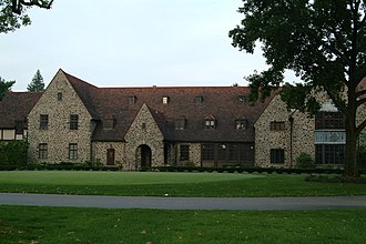 Aronimink Golf Club - Aronimink Clubhouse in 2006