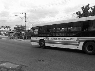 Regla - A bus in Regla